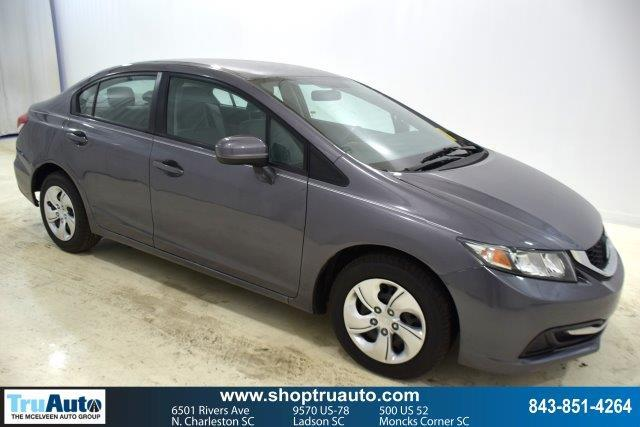 Pre-Owned 2014 Honda Civic 4dr CVT LX