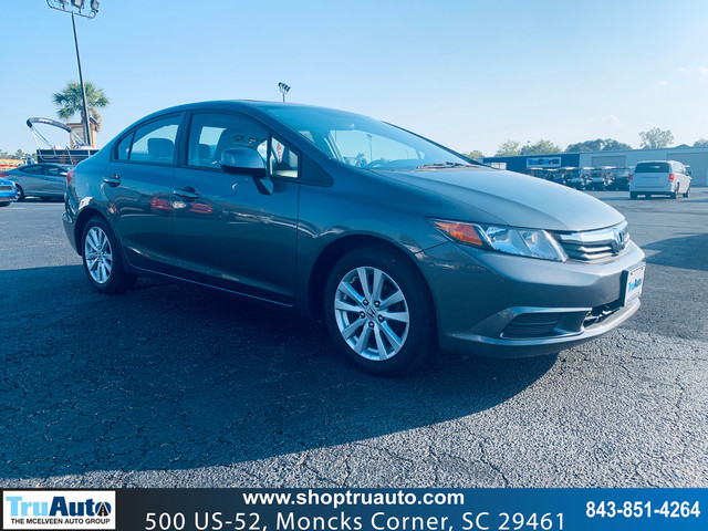 Pre-Owned 2012 Honda Civic 4dr Auto EX-L