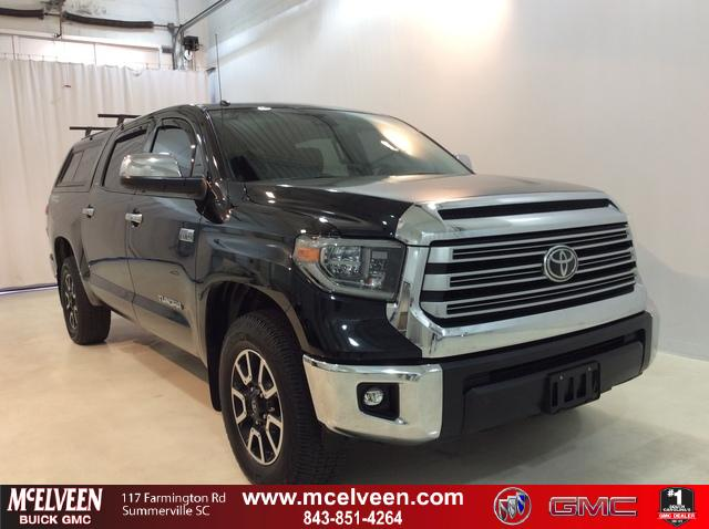 Pre-Owned 2018 Toyota Tundra 2WD Limited CrewMax 5.5' Bed 5.7L