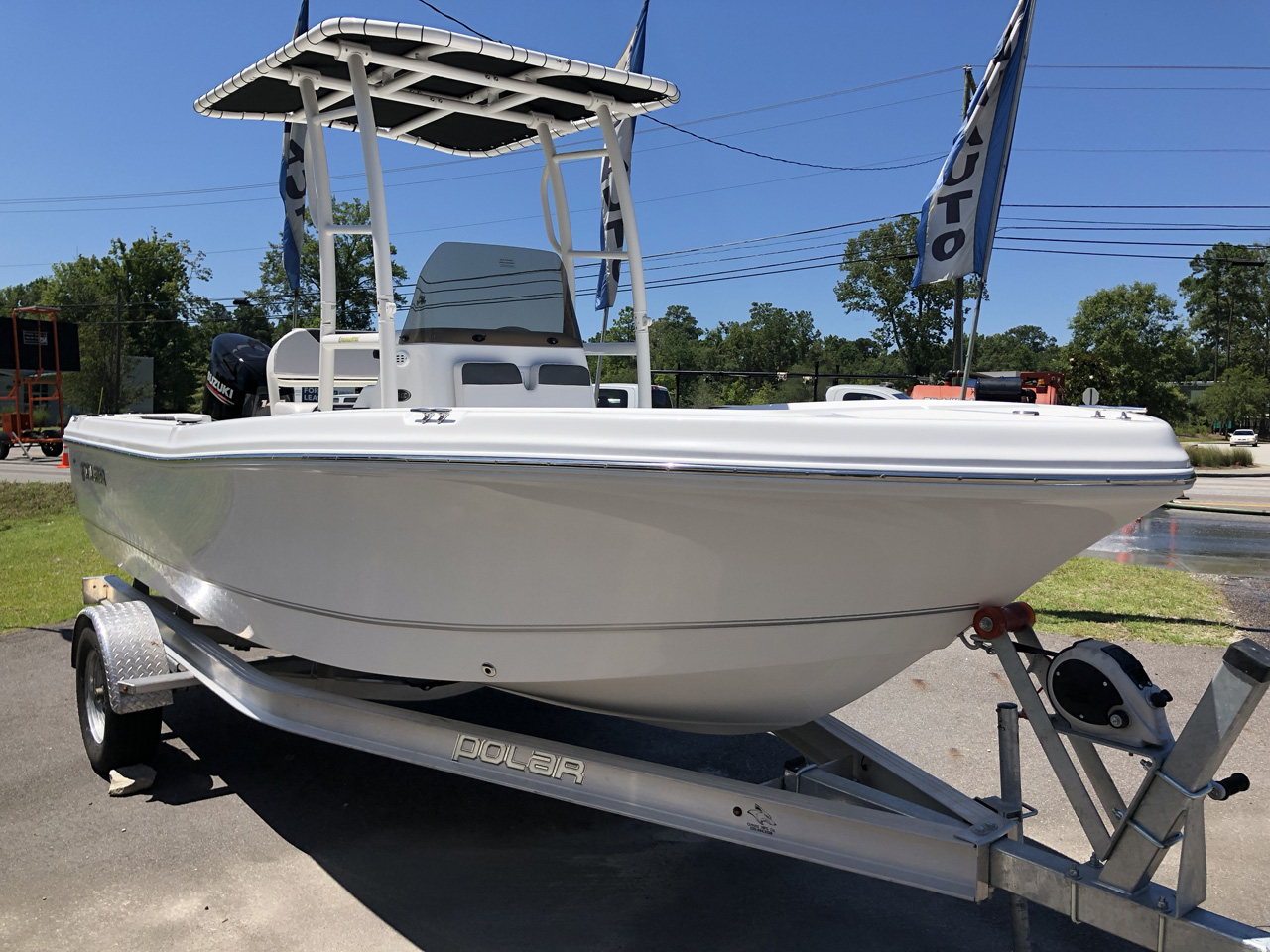 New 2019 Polar Kraft 195cc 19ft Center Console
