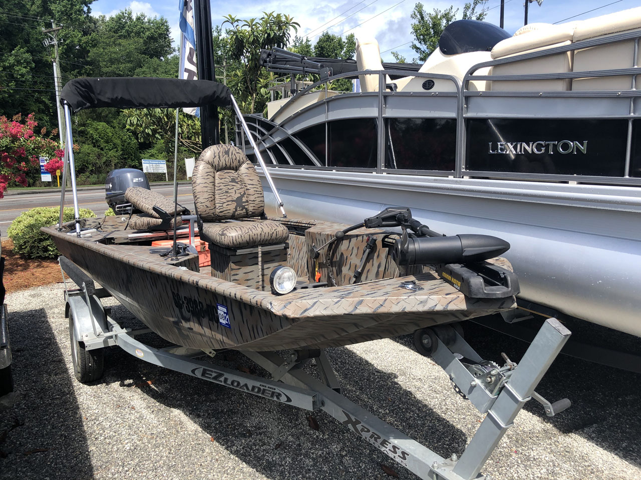 Pre Owned 2015 Aluma Weld 15ddp 15ft Aluminum Fishing Boat