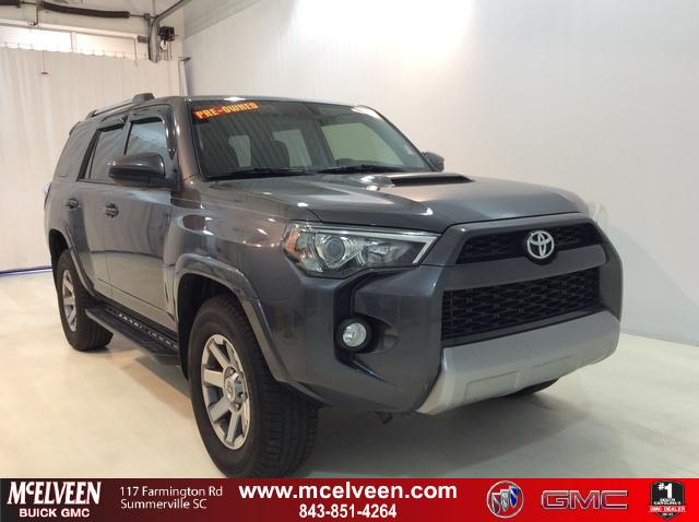 Pre-Owned 2015 Toyota 4Runner 4WD 4dr V6 Trail