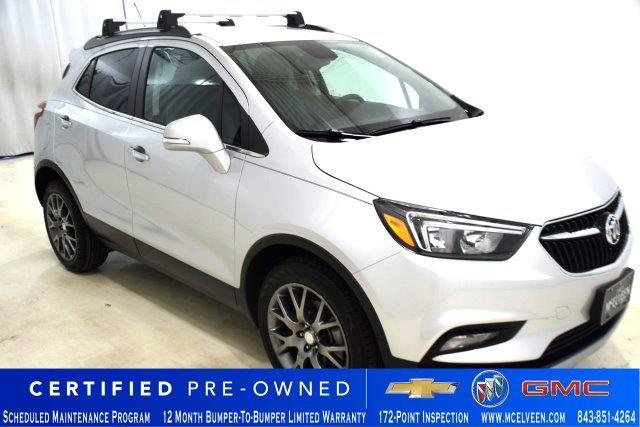 Certified Pre-Owned 2018 Buick Encore FWD 4dr Sport Touring