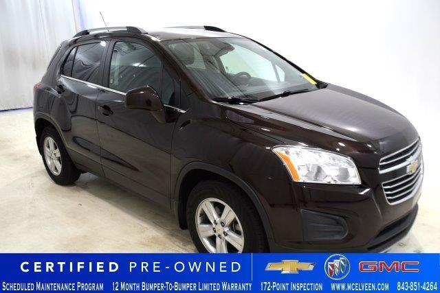 Certified Pre-Owned 2016 Chevrolet Trax FWD 4dr LT