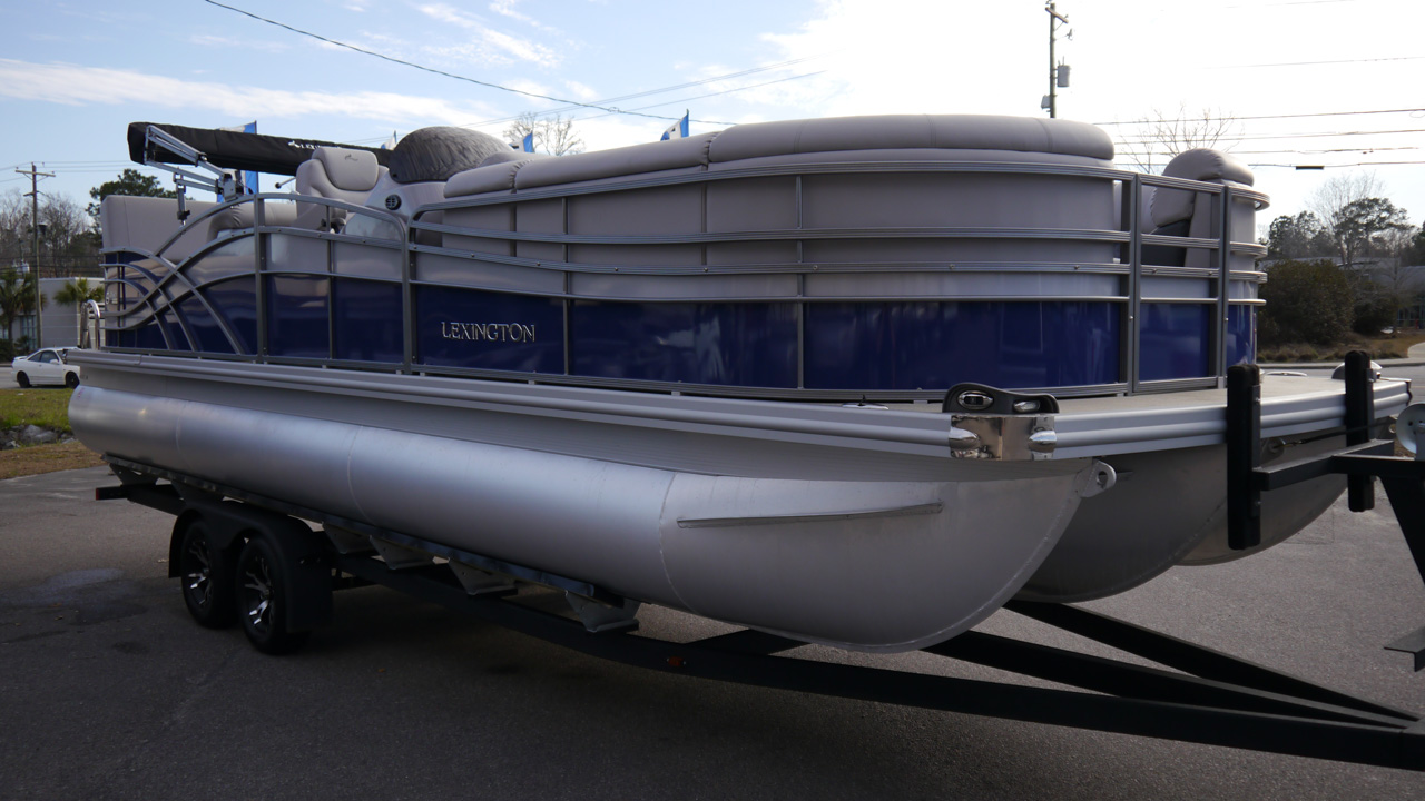 New 2018 Lexington 626SD 26ft Pontoon