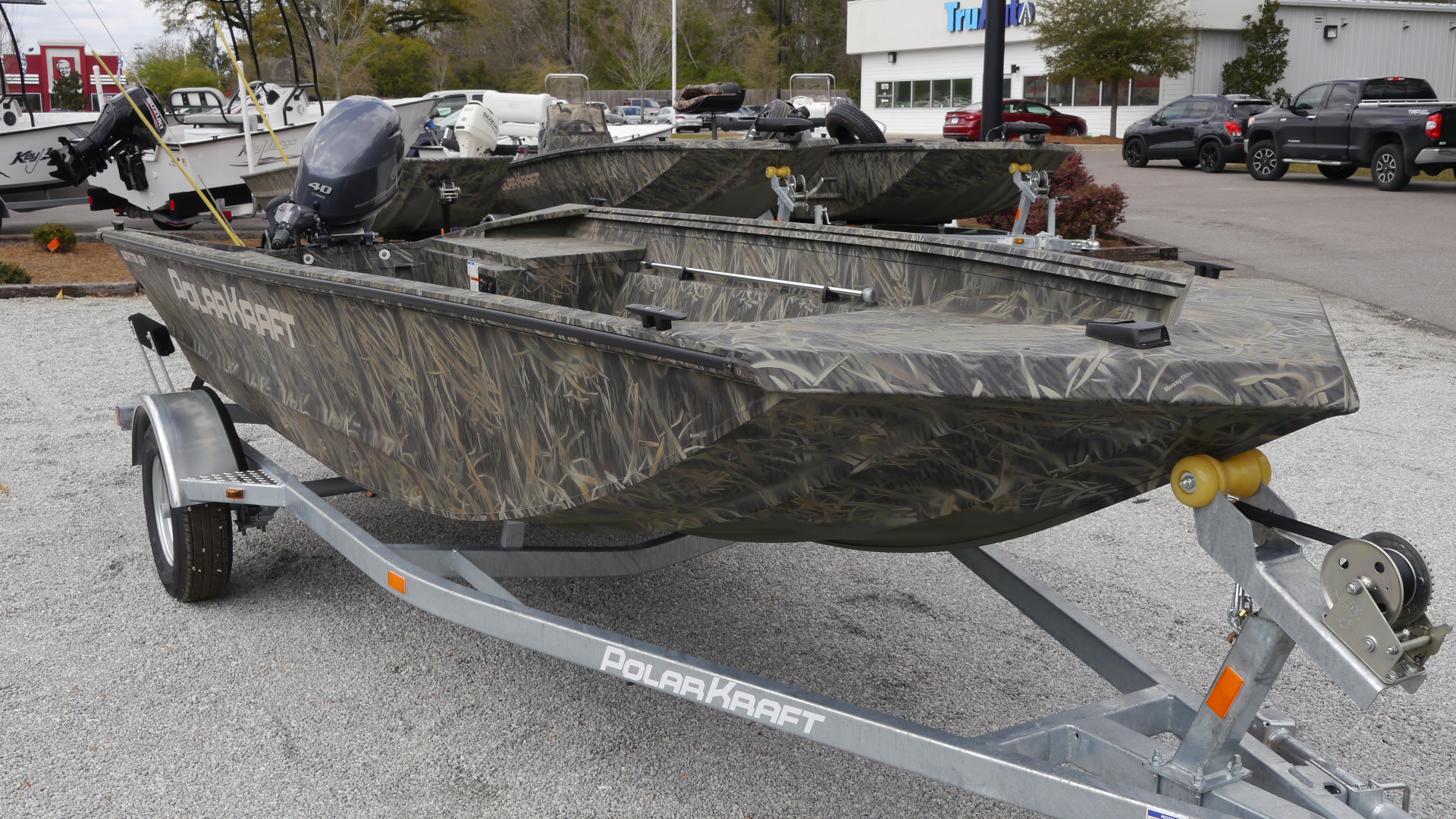 New 2018 Polar Kraft 1654 16' Welded Aluminum Fishing Boat