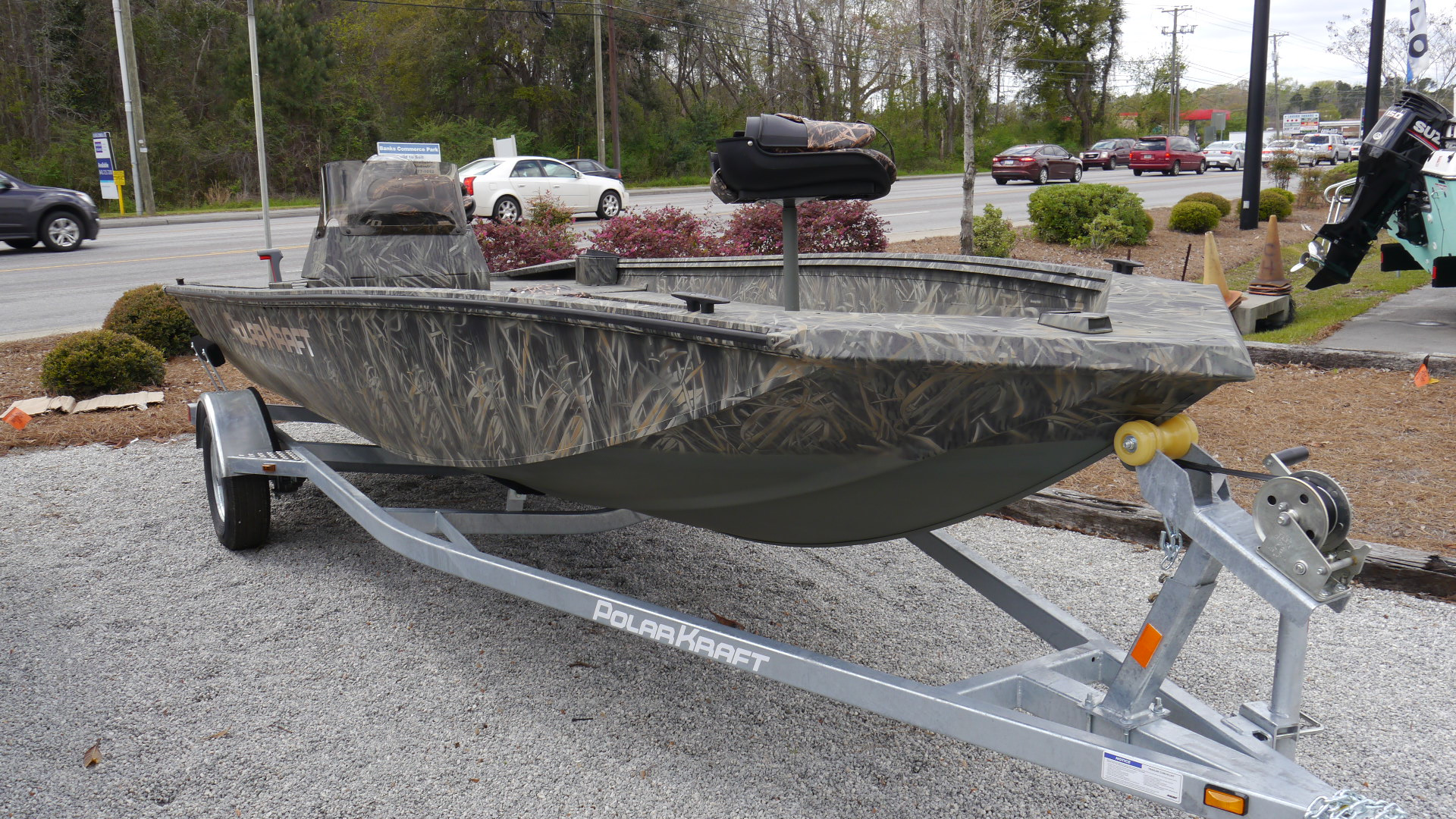 New 2018 Polar Kraft 1760 SE 17' Welded Aluminum Fishing Boat