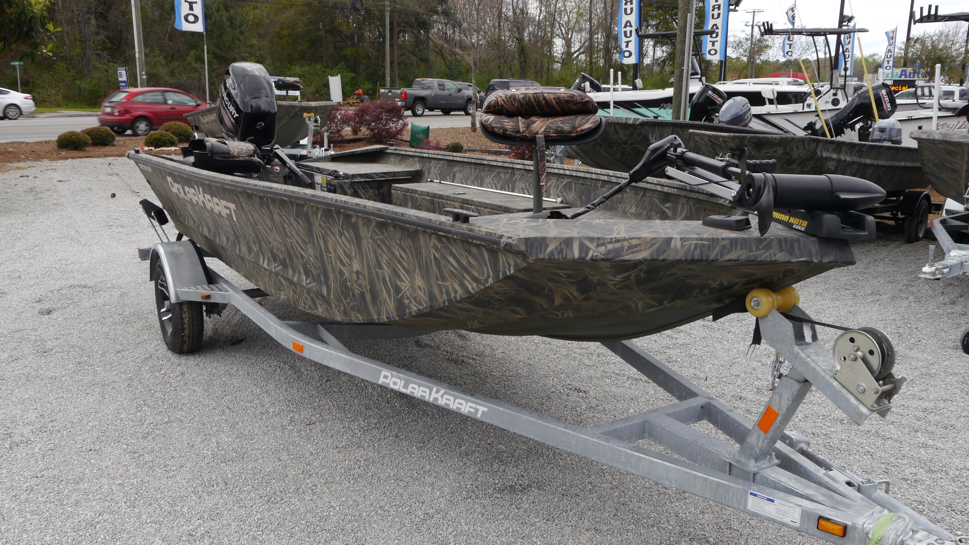 New 2018 Polar Kraft 1754 SE 17' Welded Aluminum Fishing Boat