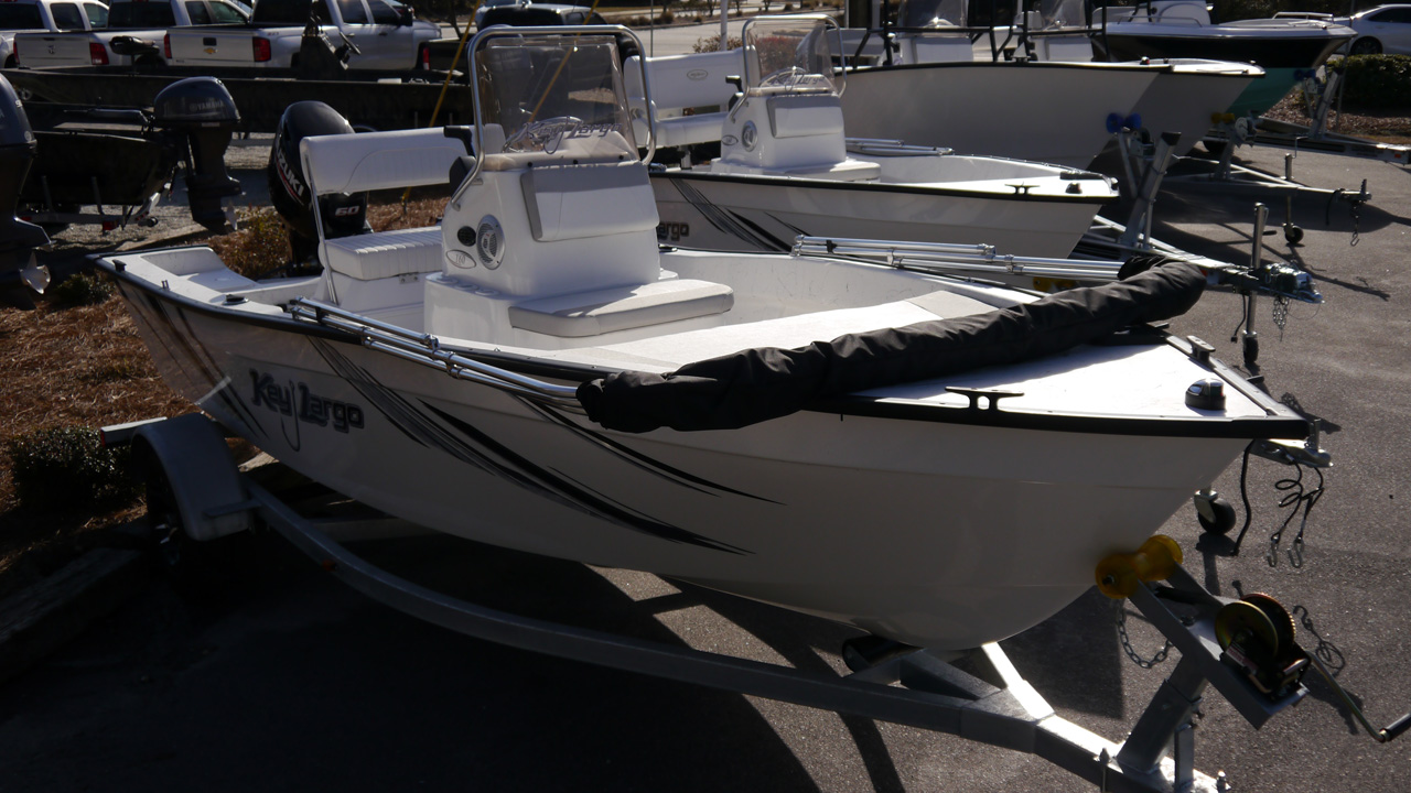 New 2018 Key Largo 160CC 16ft Center Console