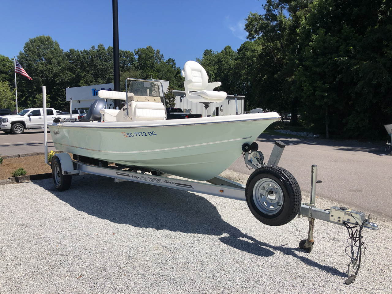 Pre-Owned 2015 Bulls Bay 2000cc 20ft Center Console