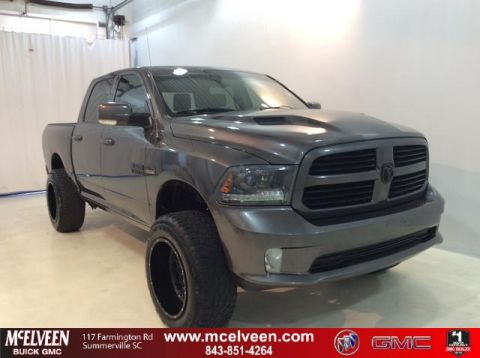 Pre-Owned 2015 Ram 1500 2WD Crew Cab 140.5 Sport