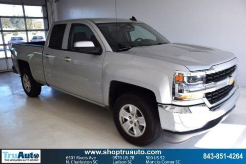Pre-Owned 2018 Chevrolet Silverado 1500 2WD Double Cab 143.5 LT w/1LT