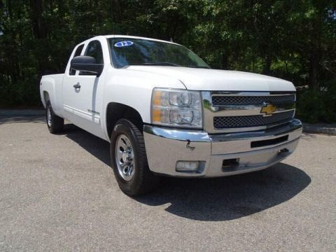 Pre-Owned 2012 Chevrolet Silverado 1500 4WD Ext Cab 157.5 LT