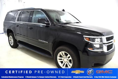 Certified Pre-Owned 2018 Chevrolet Suburban 2WD 4dr 1500 LT