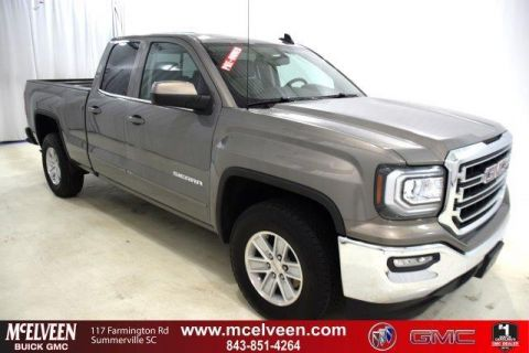 Pre-Owned 2017 GMC Sierra 1500 2WD Double Cab 143.5 SLE