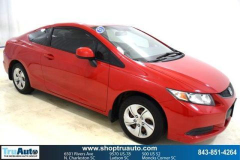 Pre-Owned 2013 Honda Civic 2dr Auto LX