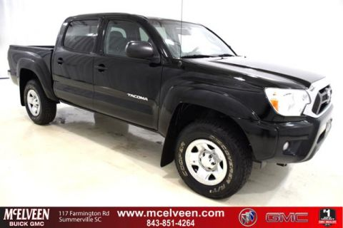 Pre-Owned 2013 Toyota Tacoma 2WD Double Cab V6 AT PreRunner