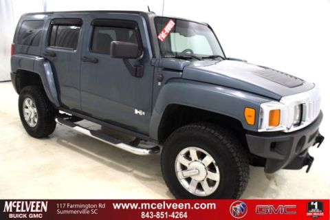 Pre-Owned 2007 HUMMER H3 4WD 4dr SUV