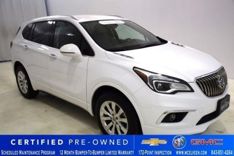 Certified Pre-Owned 2018 Buick Envision FWD 4dr Essence
